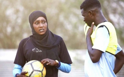 Meet the first Sudanese female coach